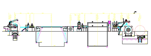 layout drawing-high speed slitting line
